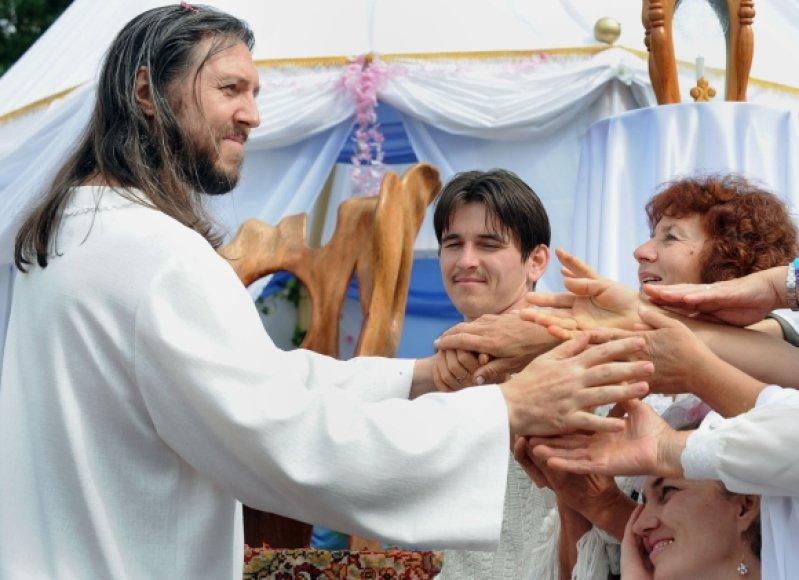 Sibiro gyventojai garbina savo mesiją S.Toropą