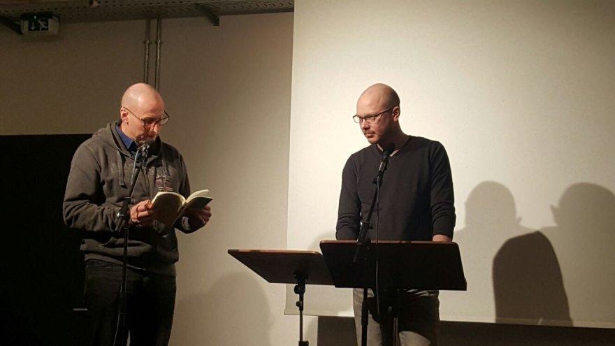 Linos Ever nuotr./Lietuvių poezijos pristatymas Berlyne