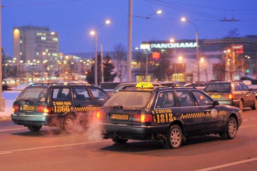 Taksistų streikas