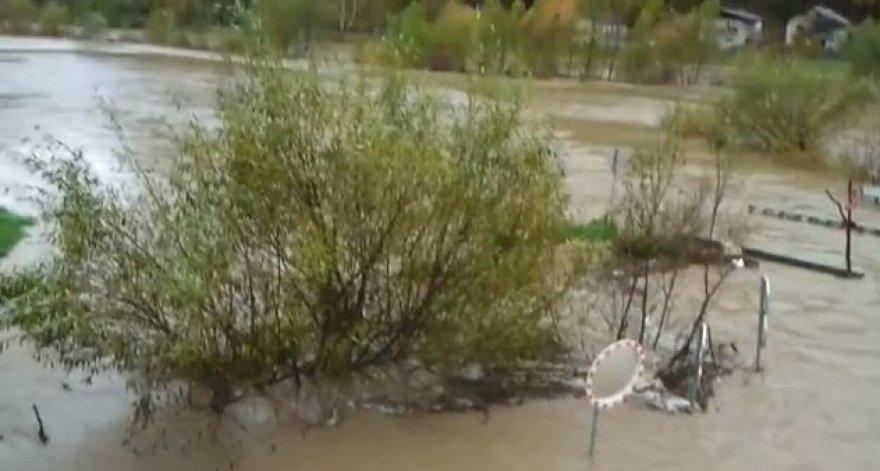 Potvynis Slovėnijoje