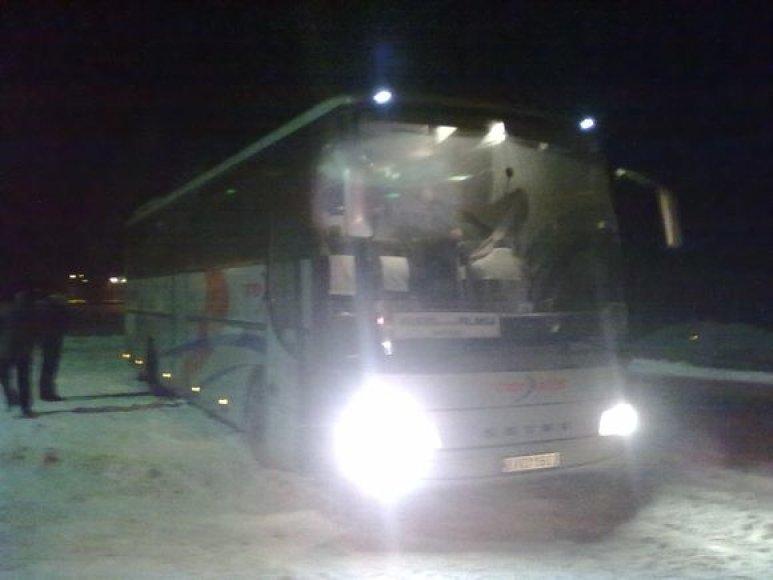 Sugedęs autobusas