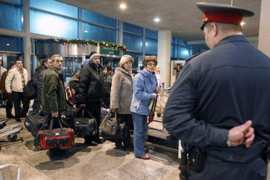 Milicininkas oro uoste