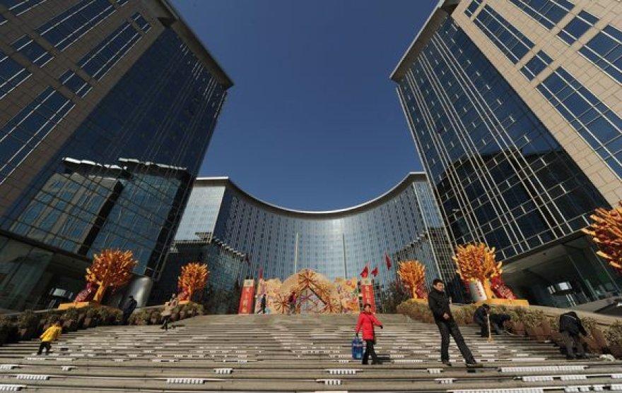 Kinijoje ekonomika nuolatos auga