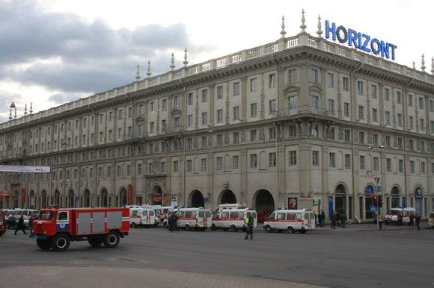 Sprogimas Minske sukėlė siaubą visoje Baltarusijoje