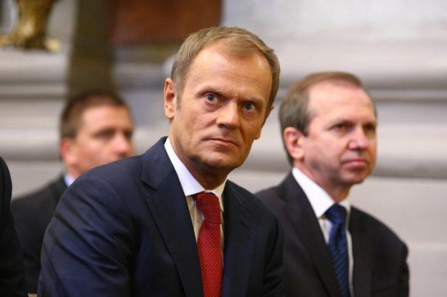 Lenkijos premjeras Vilniuje