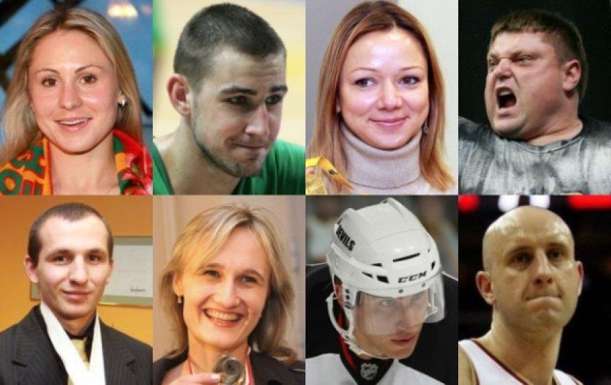 Metų sportininko rinkimai.