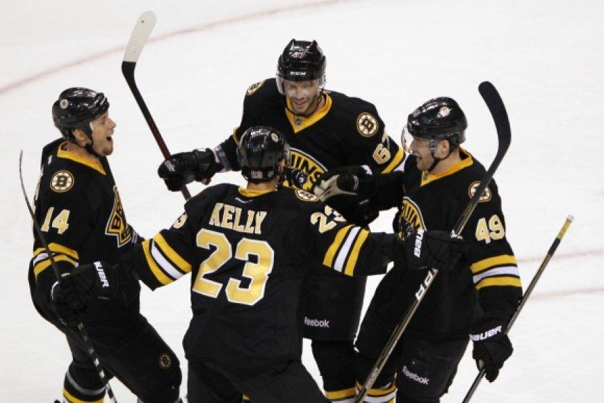 """Bruins"" ledo ritulininkai."