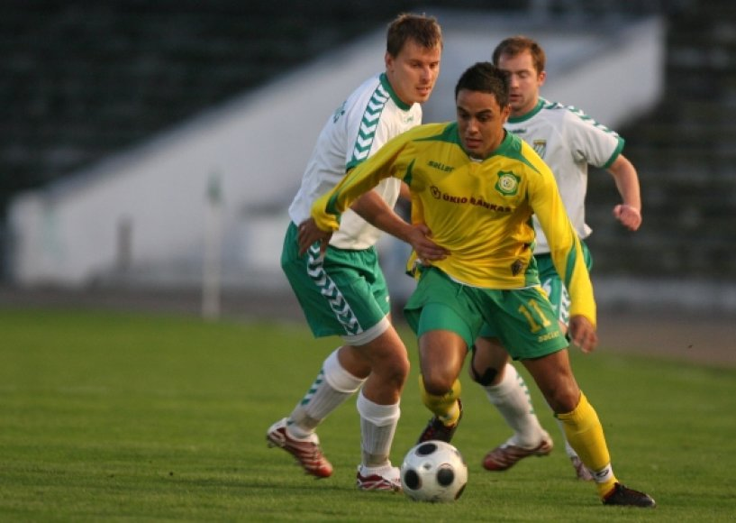 """Rafaelis Ledesma FBK """"Kauno"""" klube žaidė 2006–2008 metais."""