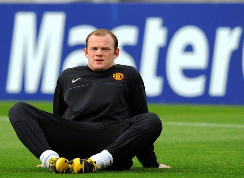 Įdomu kaip atrodytų W.Rooney vedamos pamaldos?