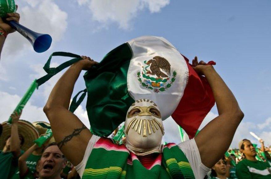 Meksikos futbolo gerbėjai neturės galimybės savo šalyje 2018 arba 2022 metais išvysti pasaulio futbolo čempionatą