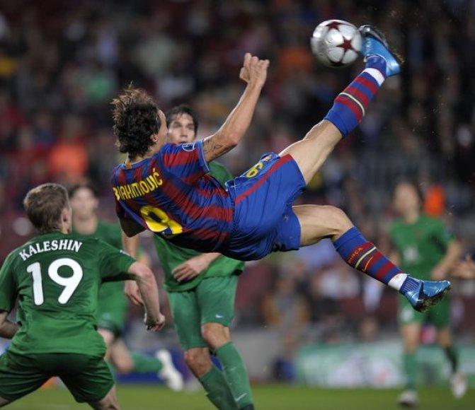 """Čempionų lygos taurės savininkė """"Barcelona"""" namuose gavo skaudų antausį nuo stipriausio Rusijos klubo Kazanės """"Rubin"""""""