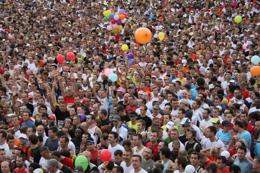 Tradiciniame Detroito maratone dalyvavo per 19 tūkst. bėgikų