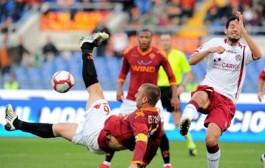 """""""AS Roma"""" klubui šis pralaimėjimas buvo jau ketvirtas šio sezono """"Serie A"""" pirmenybėse"""