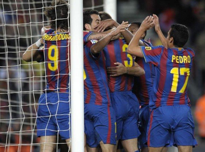 """Ispanijos futbolo čempionate """"Barcelonos"""" komandos persvara prieš """"Real"""" klubą yra minimali – vos 1 taškas"""