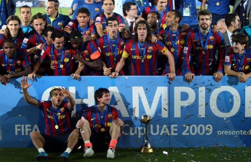 """""""Barcelona"""" futbolo klubas ir toliau renka visus įmanomus titulus iš eilės"""