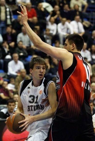 """Pralaimėjimas 30 taškų skirtumu yra skaudžiausias per visą """"Lietuvos ryto"""" klubo istorija Europos krepšinio turnyruose"""