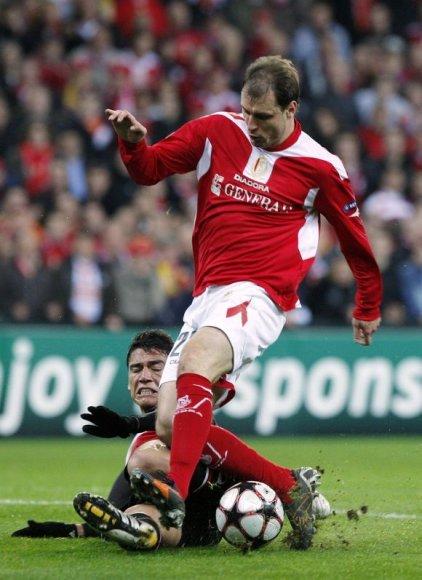 """M.Jovanovičius su """"Liverpool"""" klubu sudarė trejų metų trukmės sutartį su galimybe pratęsti ją dar vienam sezonui"""