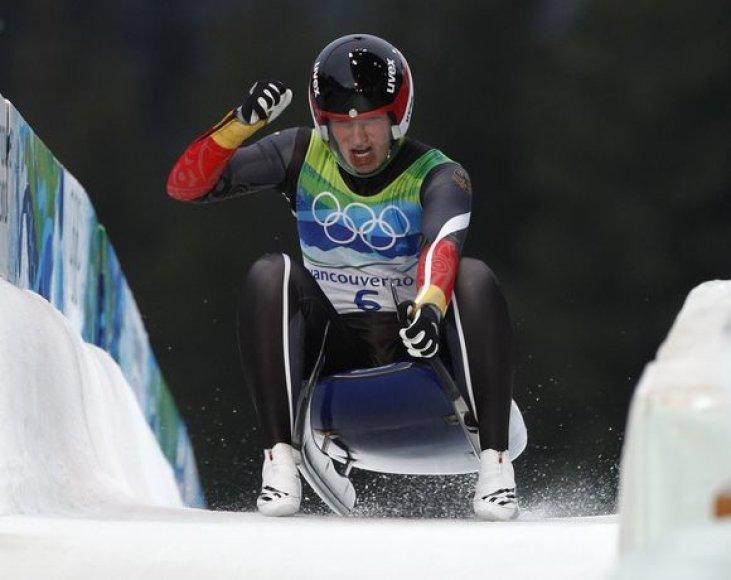 T.Huefner olimpine čempione tapo pirmą kartą
