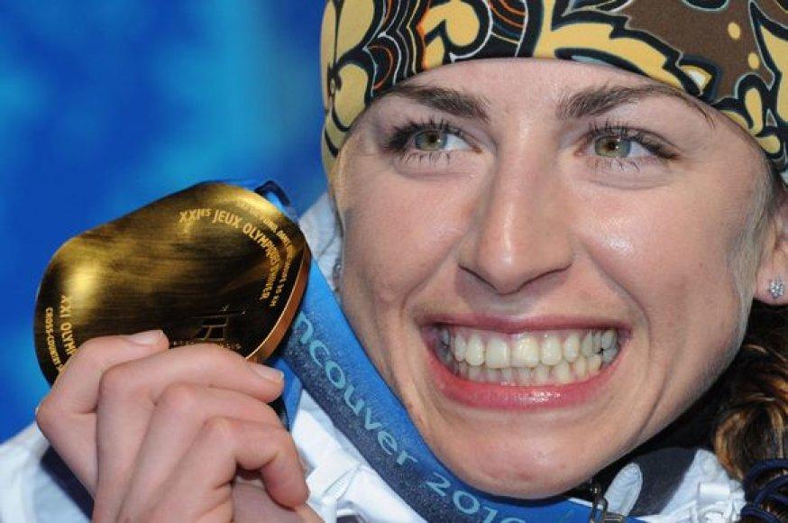 Olimpinė čempionė J.Kowalczyk