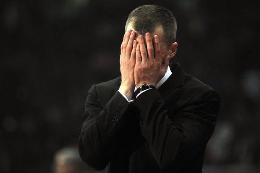 """T.Pačėso auklėtiniai """"Olympiacos"""" nusileido tik mačo pabaigoje"""