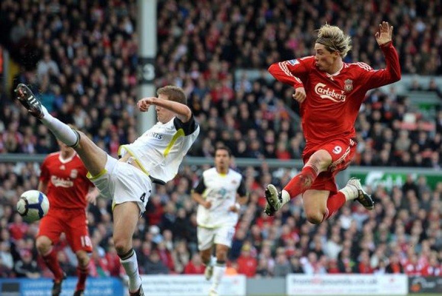 Du įvarčius nugalėtojams pelnė F.Torresas