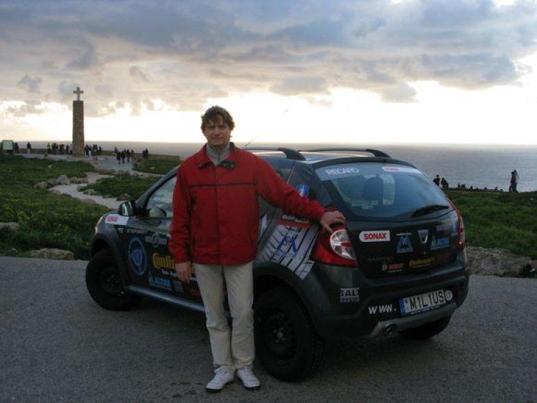 V. Milius savo unikalų žygį pradės balandžio 15 d. iš Portugalijos, netoli Lisabonos esančio bei labiausiai į vakarus nutolusio šio žemyno taško – Cabo da Roca miesto