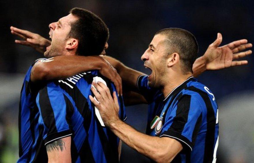 """""""Inter"""" futbolininkų džiaugsmas"""