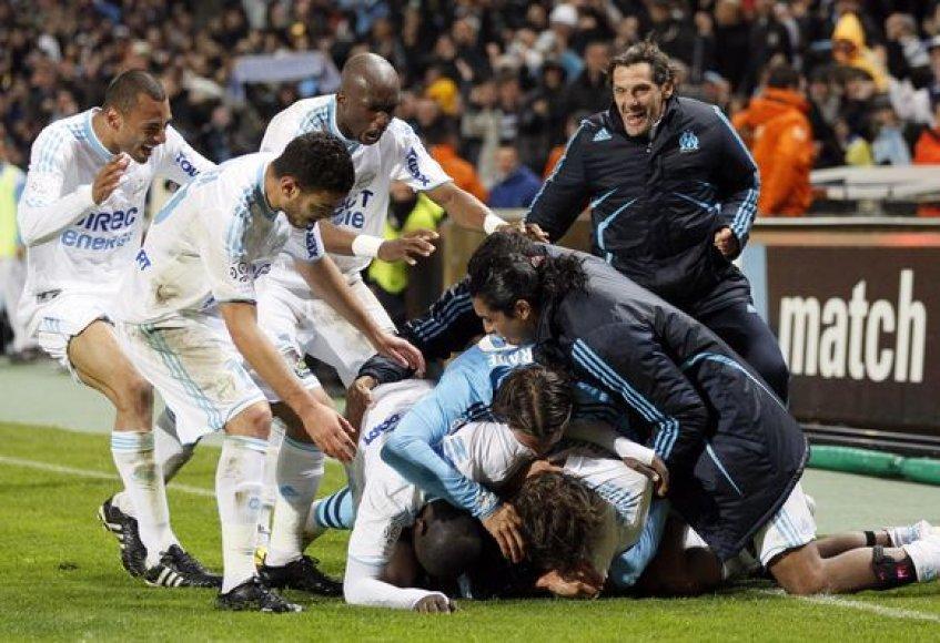 """Prancūzijos čempionu """"Olympique"""" tapo devintą kartą klubo istorijoje"""