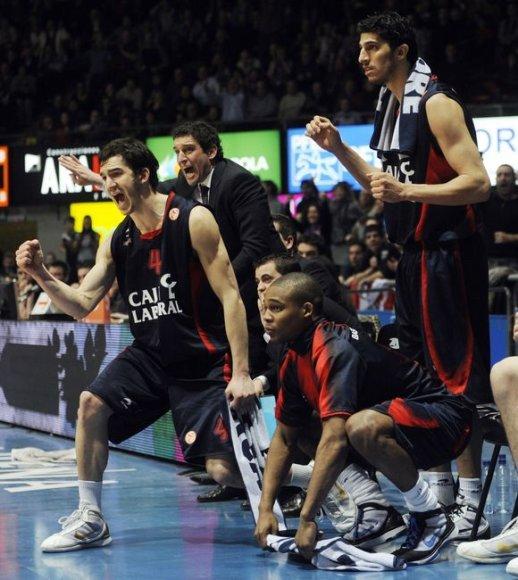 """""""Caja Laboral"""" krepšininkus nuo Ispanijos čempionų titulo skiria vos viena pergalė"""