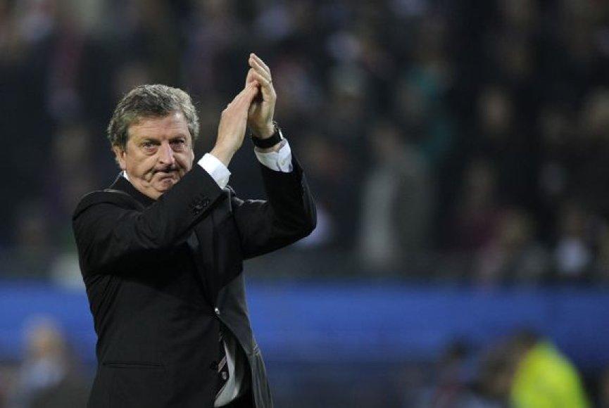 """R.Hodgsonas praėjusiame sezone dirbo """"Fulham"""" klube"""
