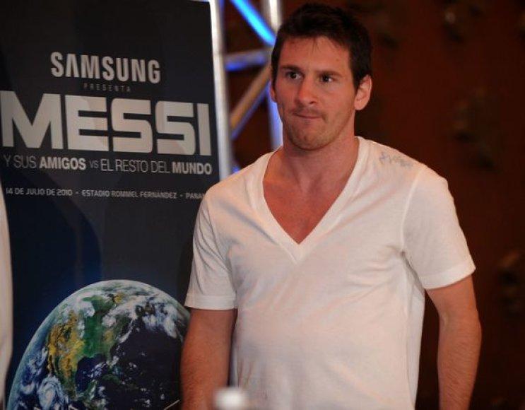 L.Messi tikisi užkariauti mados pasaulį