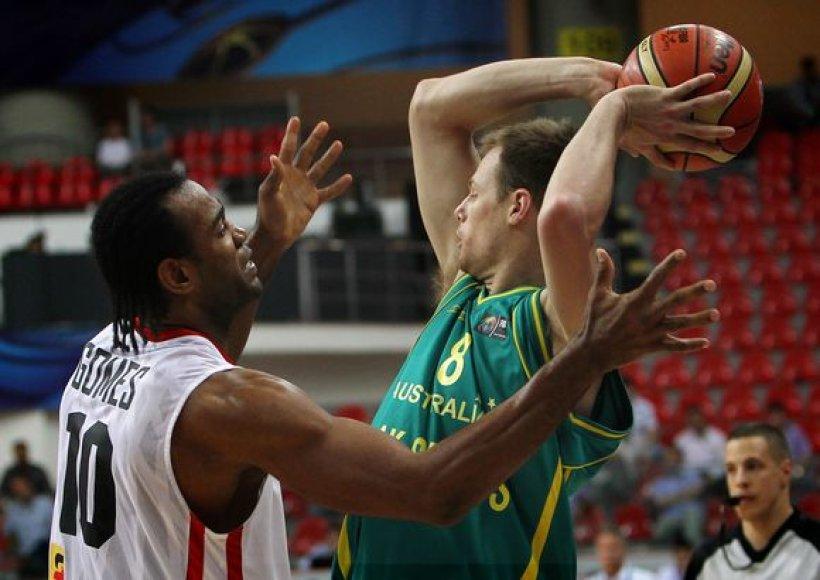 Australai atuntfinalyje žais su slovėnais