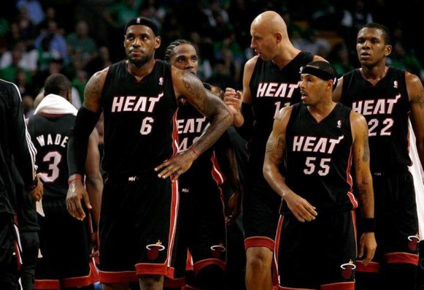 Majamio ekipa naująjį NBA sezoną pradėjo nesėkme