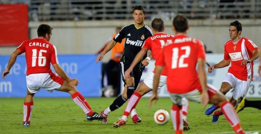Įveikti varžovų gynybos nepavyko ir brangiausiam pasaulio futbolininkui C.Ronaldo