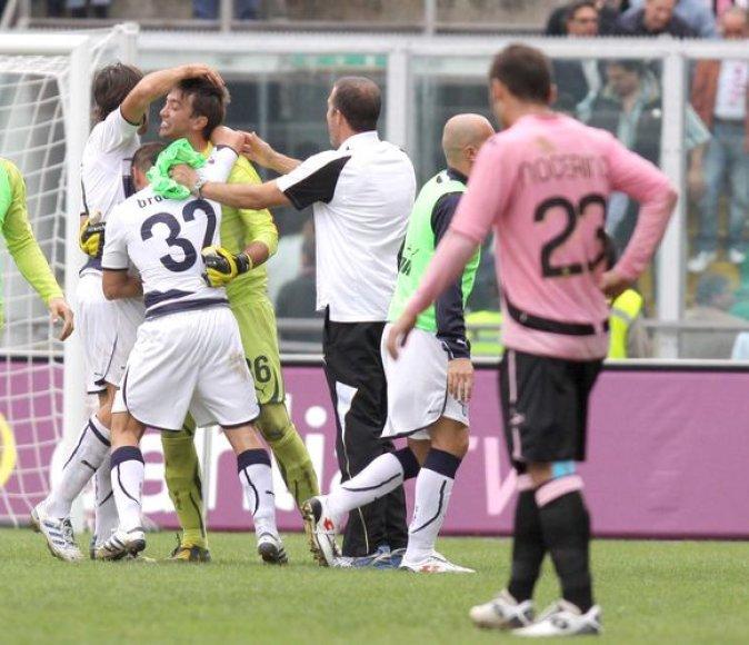 """""""Lazio"""" iškovojo septintą pergalę"""