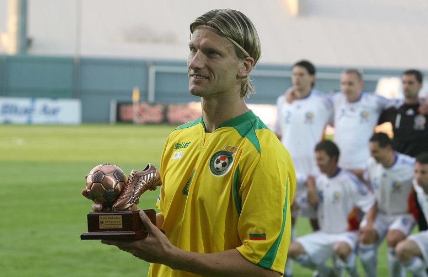 2009 metais geriausiu Lietuvos futbolininku išrinktas Marius Stankevičius