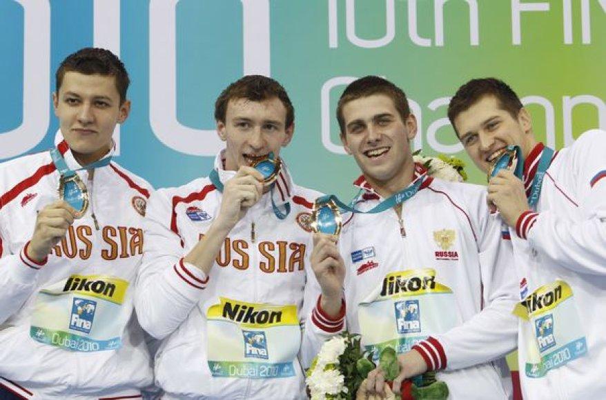 Planetos rekordininkė – Rusijos vyrų rinktinė.