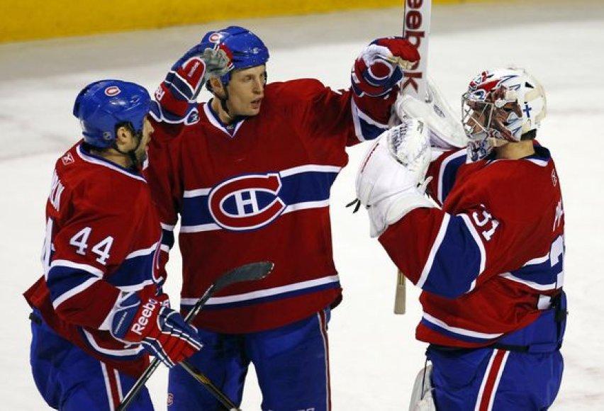 """""""Canadiens"""" pergalė."""