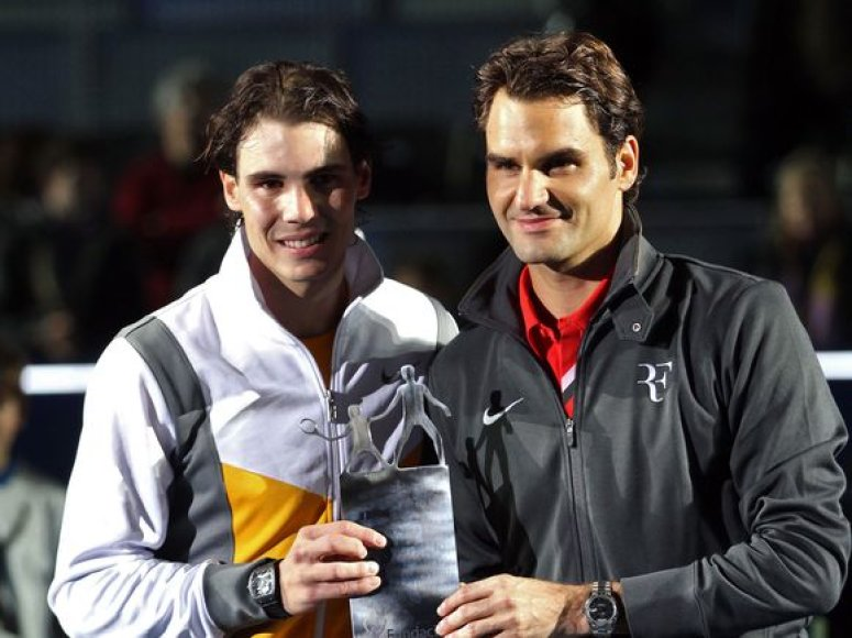 Rafaelis Nadalis ir Rogeris Federeris.
