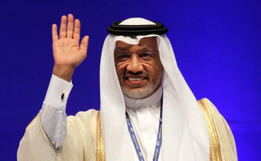 Azijos futbolo konfederacijos prezidentas katarietis Mohammedas Bin Hammamas.