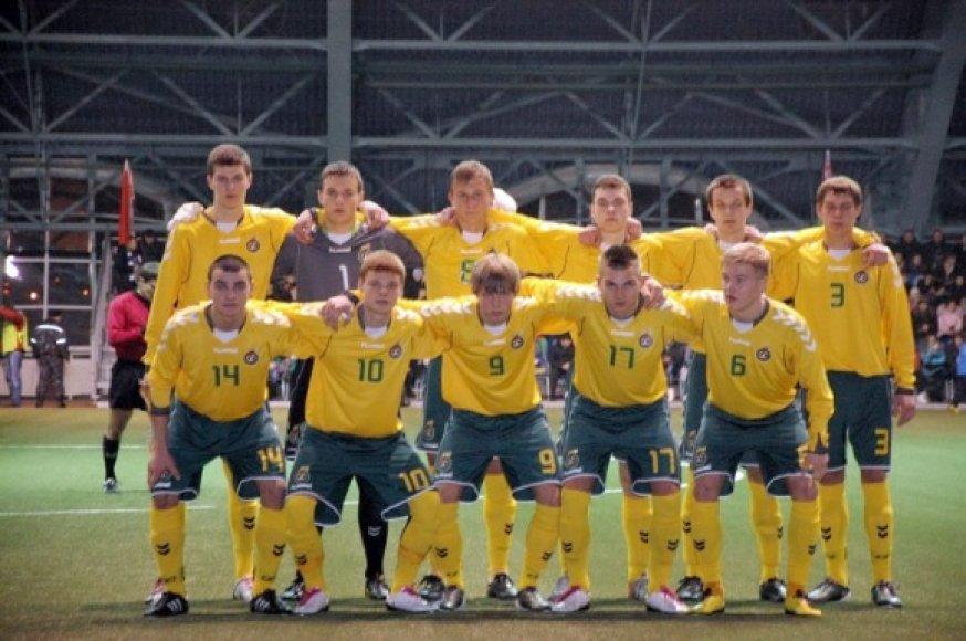 Lietuvos futbolo jaunimo rinktinė