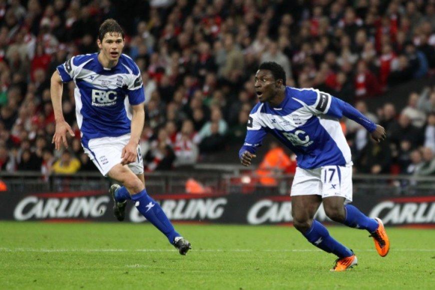 """""""Birmingham City"""" klubo triumfas."""
