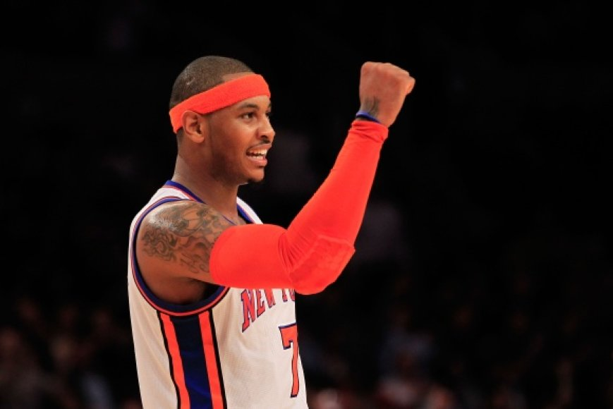 """""""Knicks"""" klubas pirmą kartą per septynis pastaruosius sezonus pateko į NBA lygos atkrintamąsias varžybas."""