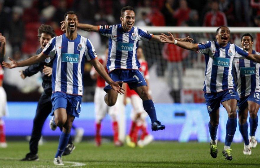 """""""Porto"""" futbolininkų triumfas."""