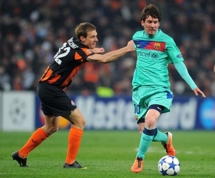 9 įvartį turnyre įmušęs Lionelis Messi tapo rezultatyviausiu šio sezono Čempionų lygos žaidėju.