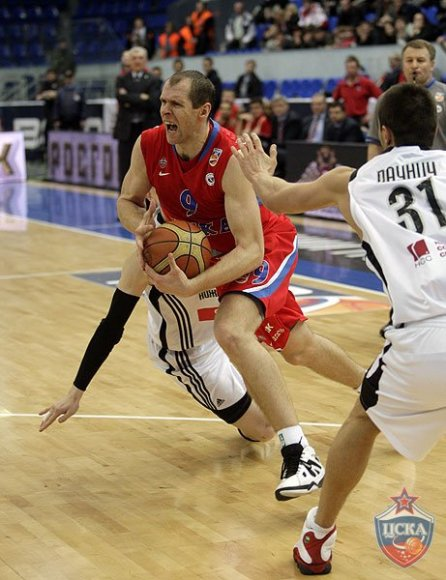 Ramūno Šiškausko rezultatyvumas CSKA ekipos neišgelbėjo