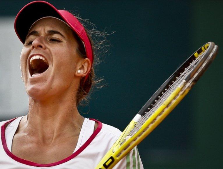 Anabel Medina Garrigues džiaugsmas.