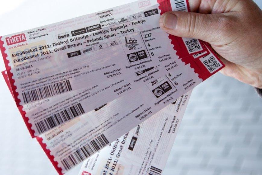 Kaunietis įtariamas perpardavinėjęs didelį kiekį bilietų