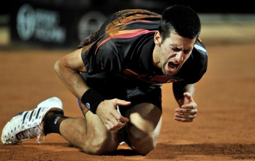 Novakas Džokovičius iškovojo dar vieną pergalę.