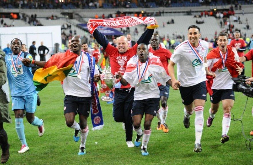 """Lille"" futbolininkų triumfas."